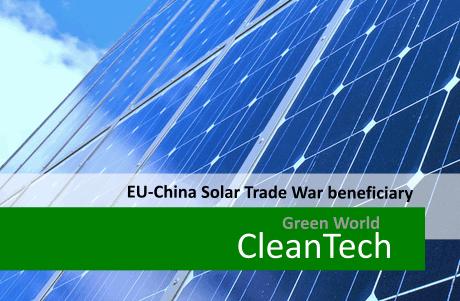 Eu China Solar Trade War Beneficiary