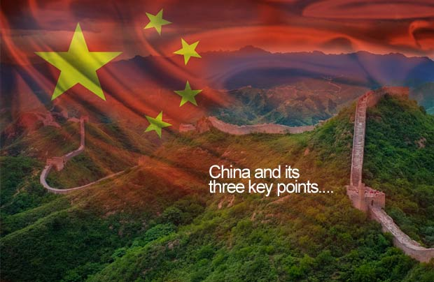 Three key points of China