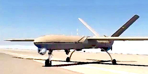 Iran UAV Combat Vehicle Shahed 129