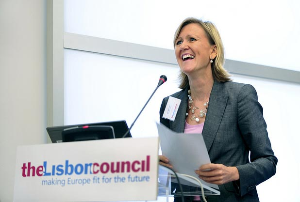 Ann Mettler, Executive Director and Co-Founder, The Lisbon Council. (Photo: Courtesy of @lisboncouncil)