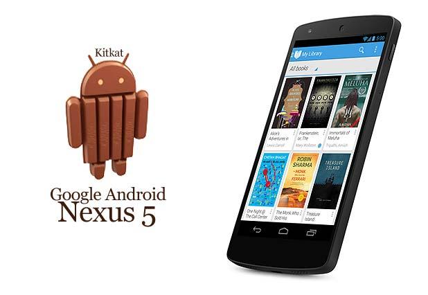 Google nexus 5 android kitkat
