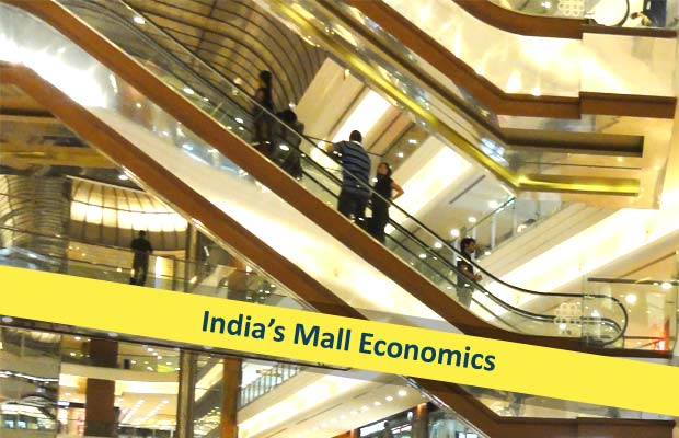Mall space in india is vacant