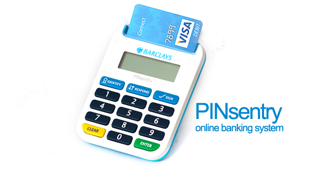 PINsentry and online banking system-marketexpress