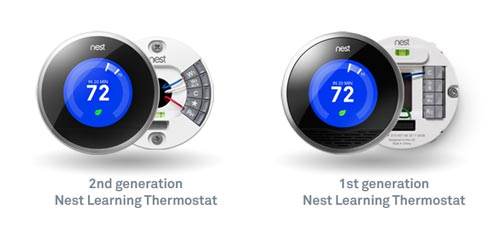 Nest Thermostat 1st and 2nd Generation -MarketExpress