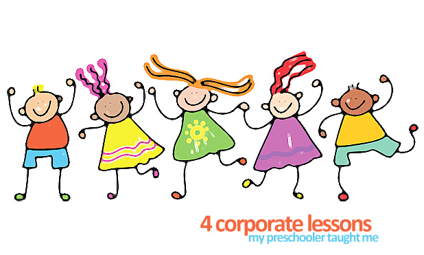 4 corporate lessons preschooler MarketExpress-in