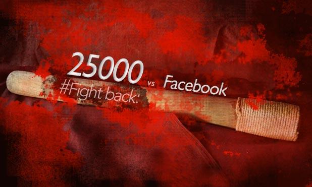 25000 vs #facebook fightback MarketExpress-in