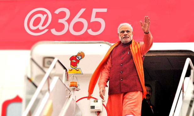 Modi 365 one year MarketExpress-in