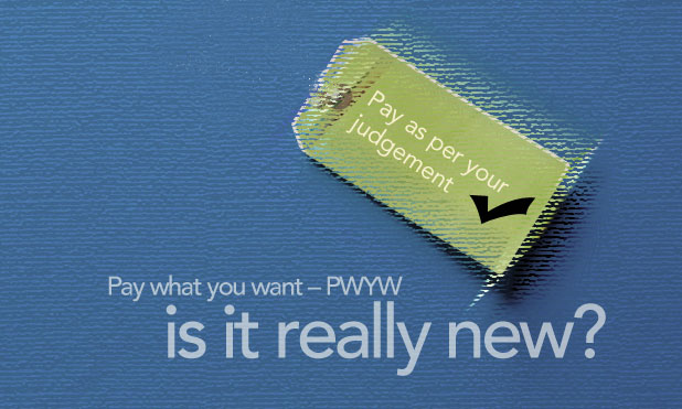 PWYW: A new pricing strategy – is it really new? | MarketExpress