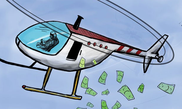 Image result for helicopter money