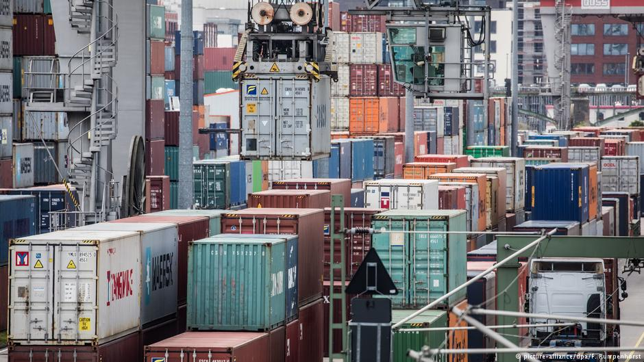 Trade growth faltering in Germany and China