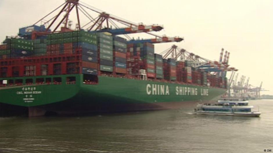 China's exports cool in August while imports accelerate