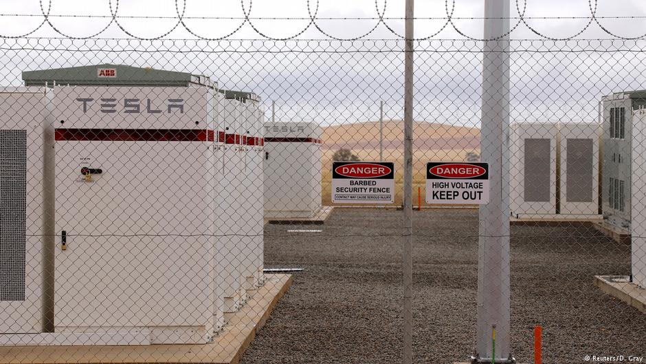 Tesla launches world's biggest battery in Australia